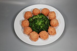 Deep Fried Shrimp Balls